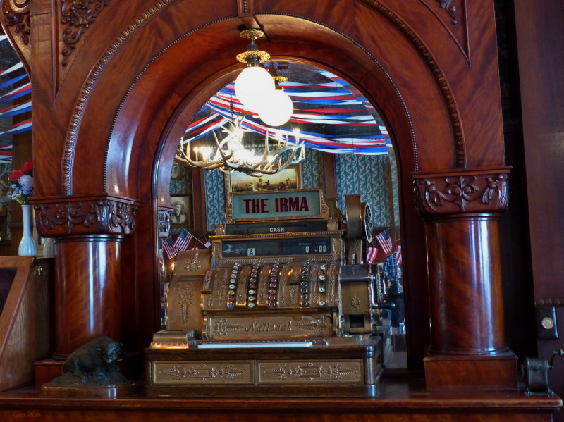 Irma's cash register. For Elaine.