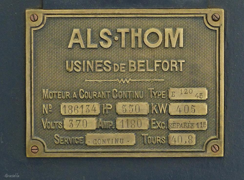 Placa. Antic motor Als-Thom (4/4)