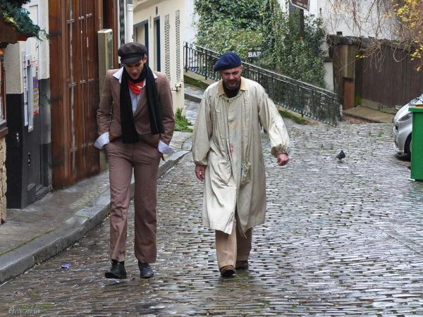 Montmartre #2. Dos personatges.