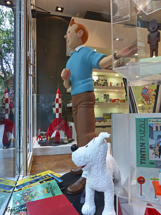 Tintin Shop. Barcelona