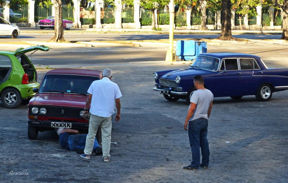 Cotxes als carrers de L'Havana #3