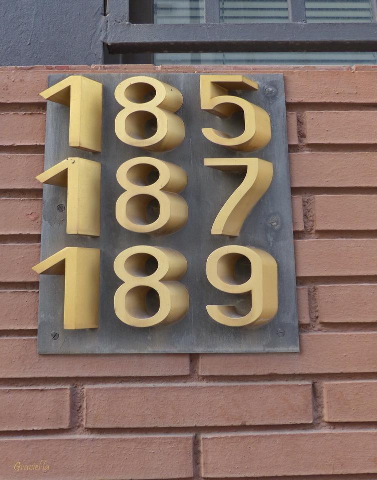 185 187 189