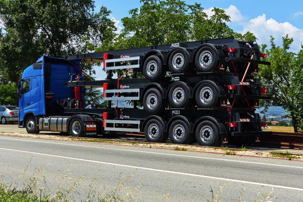 Un camió de ... quants eixos??
