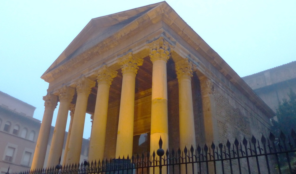 Temple Romà.  Segle II -VIC-