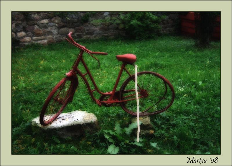 Vieja bicicleta
