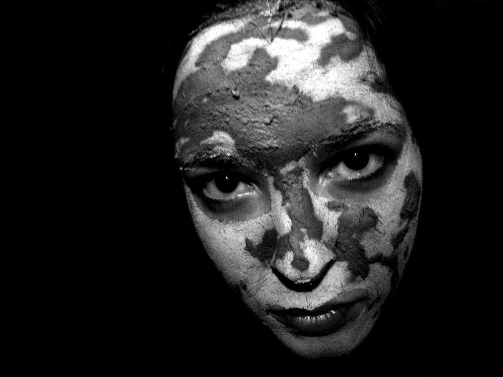 portrait mask dark