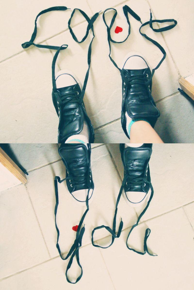 ugi girl female shoes love you