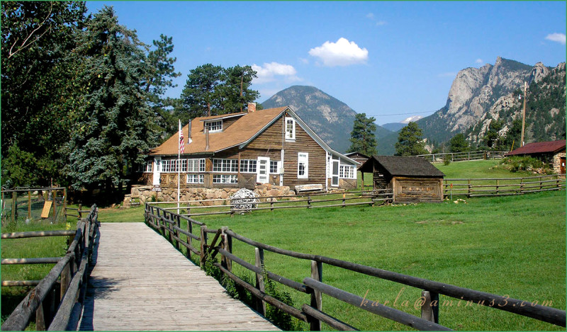 Colorado, history, ranch, Estes-Park
