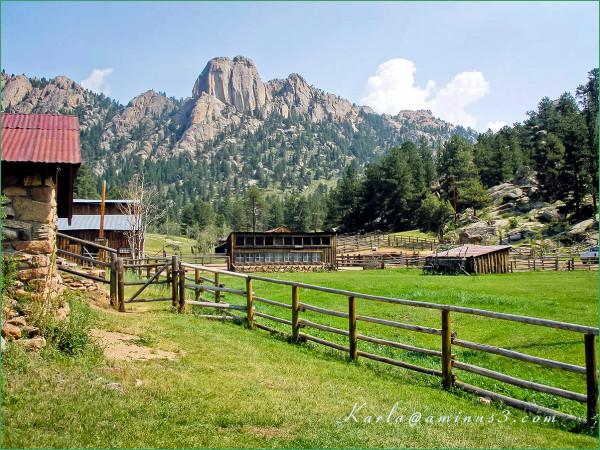 Colorado, Estes-Park, history, ranch