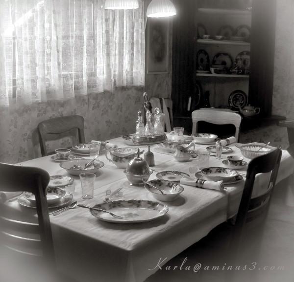 Colorado, Estes-Park, history, ranch, dining-room