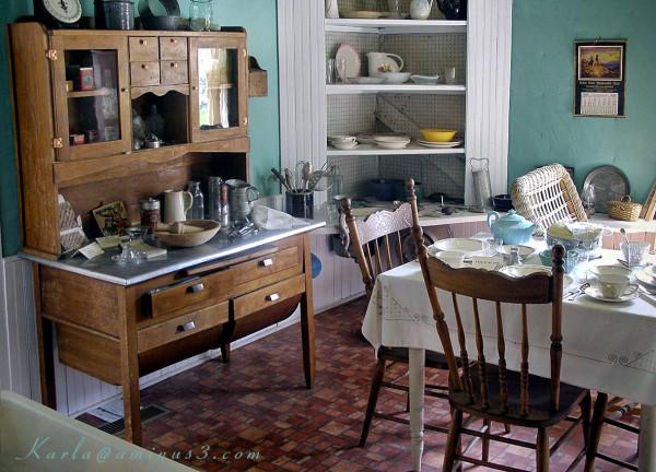 ...the kitchen ...