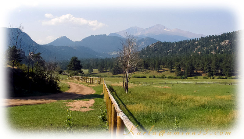 Colorado, Estes-Park, history, ranch