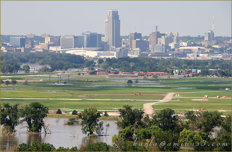 Missouri-River, Omaha, Flood