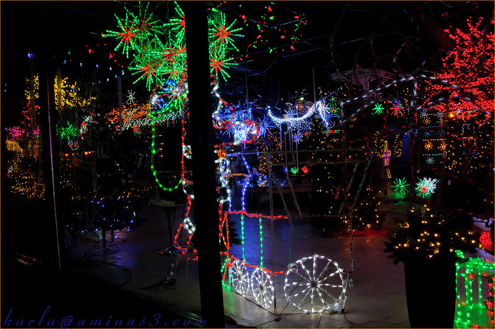storefront, lights, Christmas