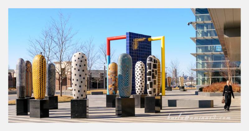 Kaneko, ceramic art, Council Bluffs Iowa