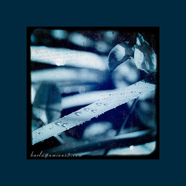 raindrops, blue, textures