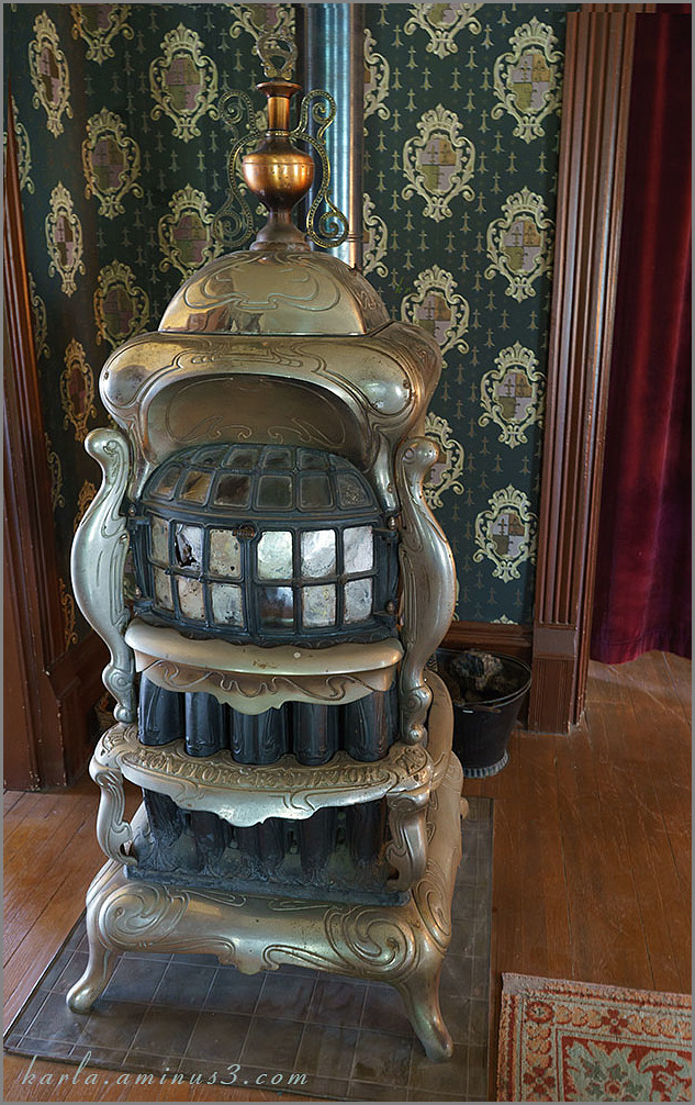 Lesher House parlor stove