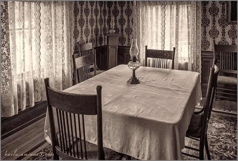Lesher House dining room