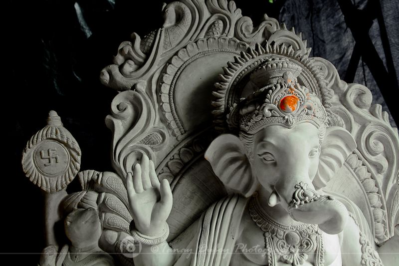 Making of Ganpati Idols in India