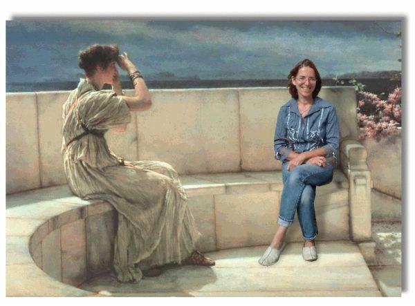 me and Alma Tadema