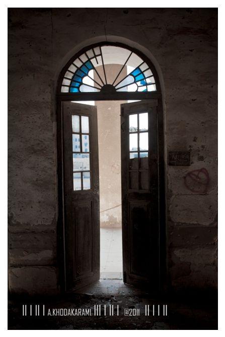 door oldoor bushehr iran oldpart oldstructure blue