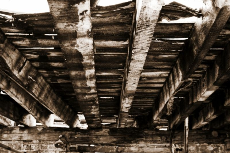 old building ceiling