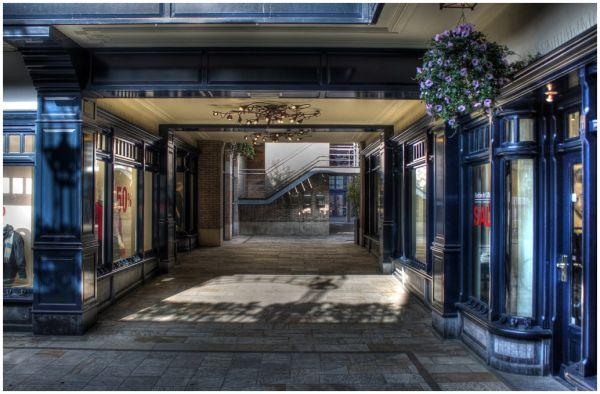 Haagse Bluf winkelpromenade Den Haag