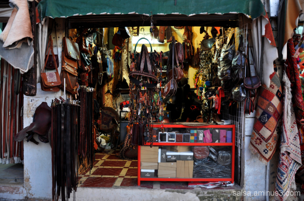 Shop in old bazar