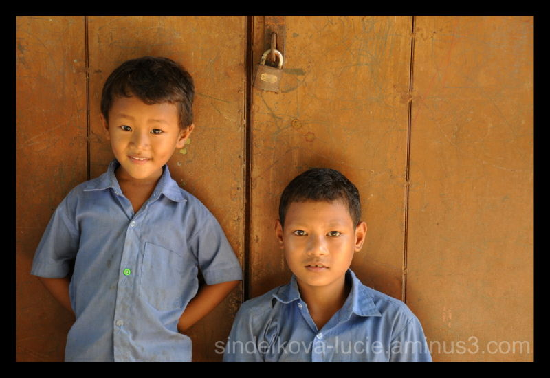 Village school kid's in Bangladesh