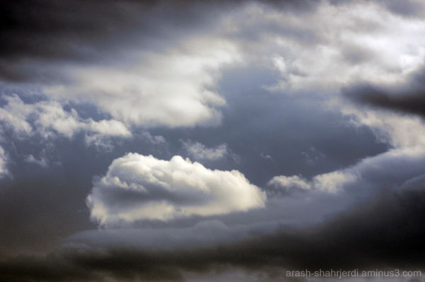 Clouds, Tehran-Iran, Arash Shahrjerdi 2011