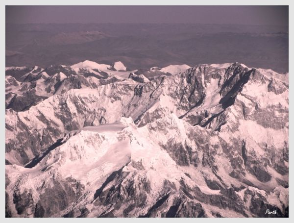 The Himalayas...