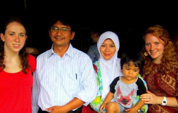 Javanese host family!