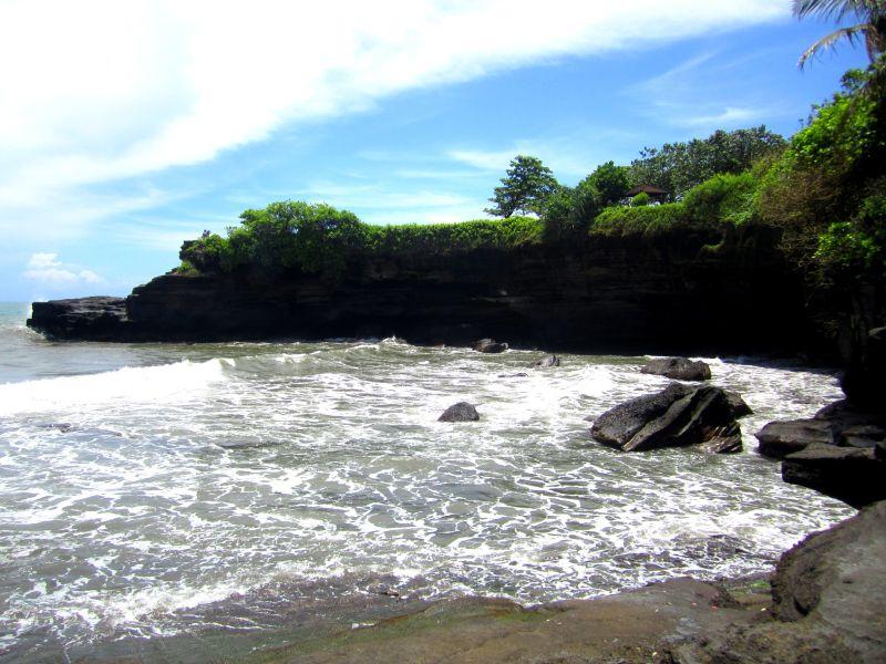 Beach at Tanah Lot