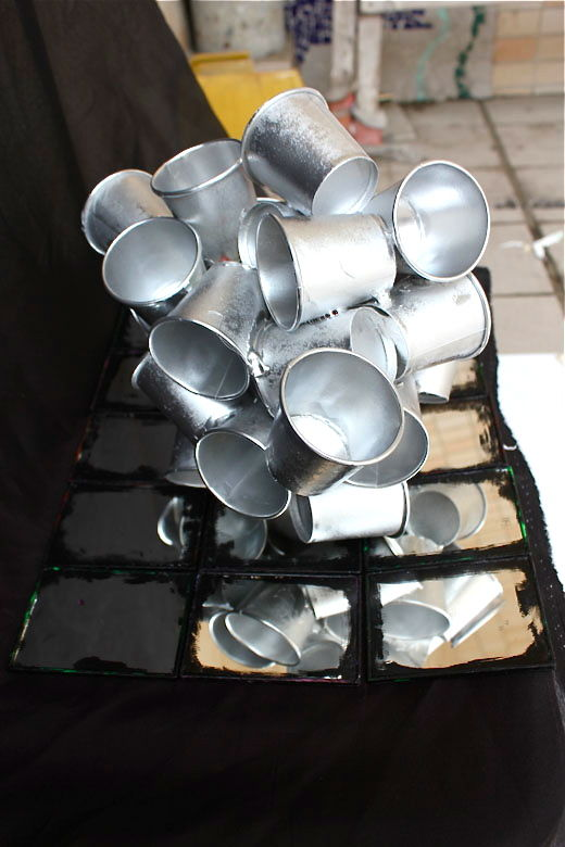 Silver Cups in the Corner