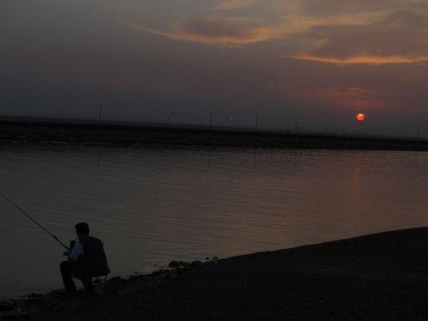 Sunset & Salt Lake