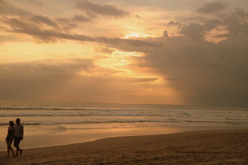 Walk by the beach