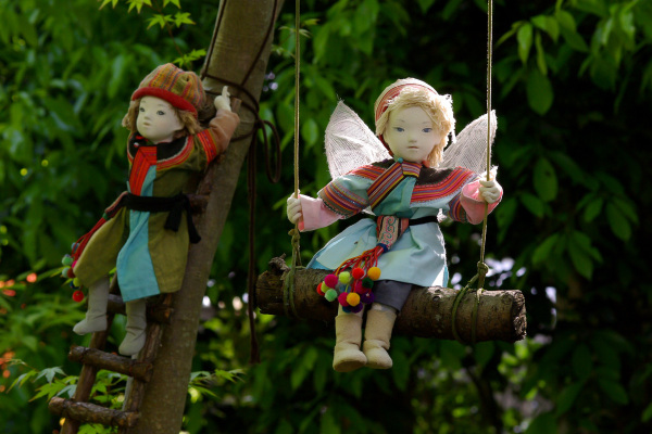 Dolls In The Woods