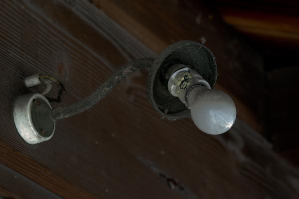 An Old Light Bulb
