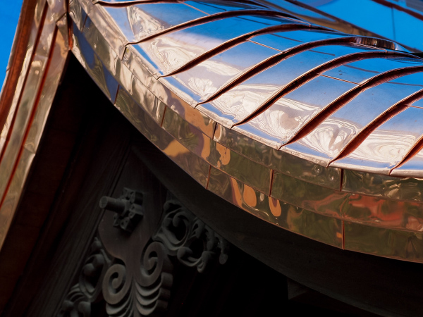 Rened Copper Roof