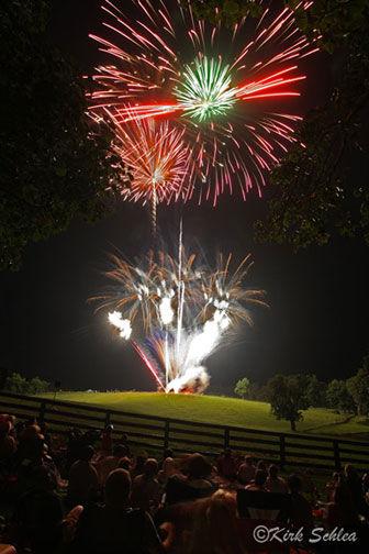 Fireworks at Holman Ranch