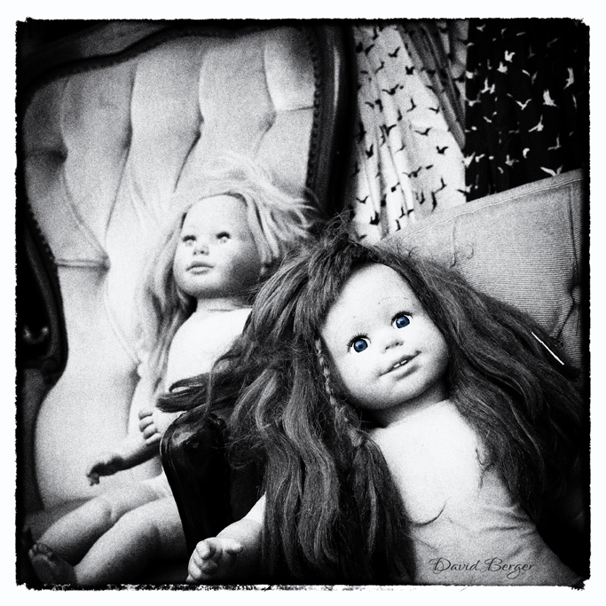 black & white dolls brick lane market london
