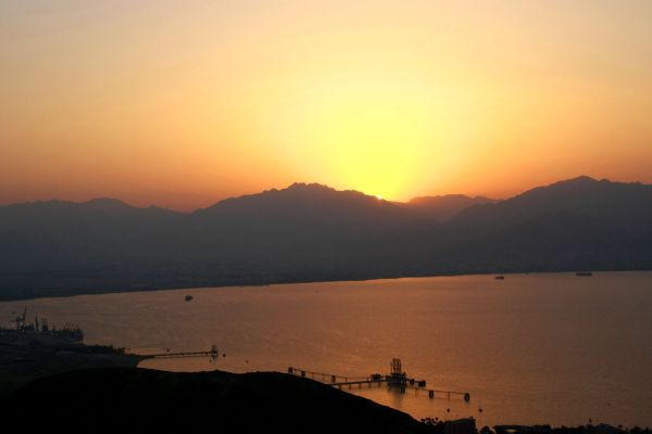 Sunrise in Eilat