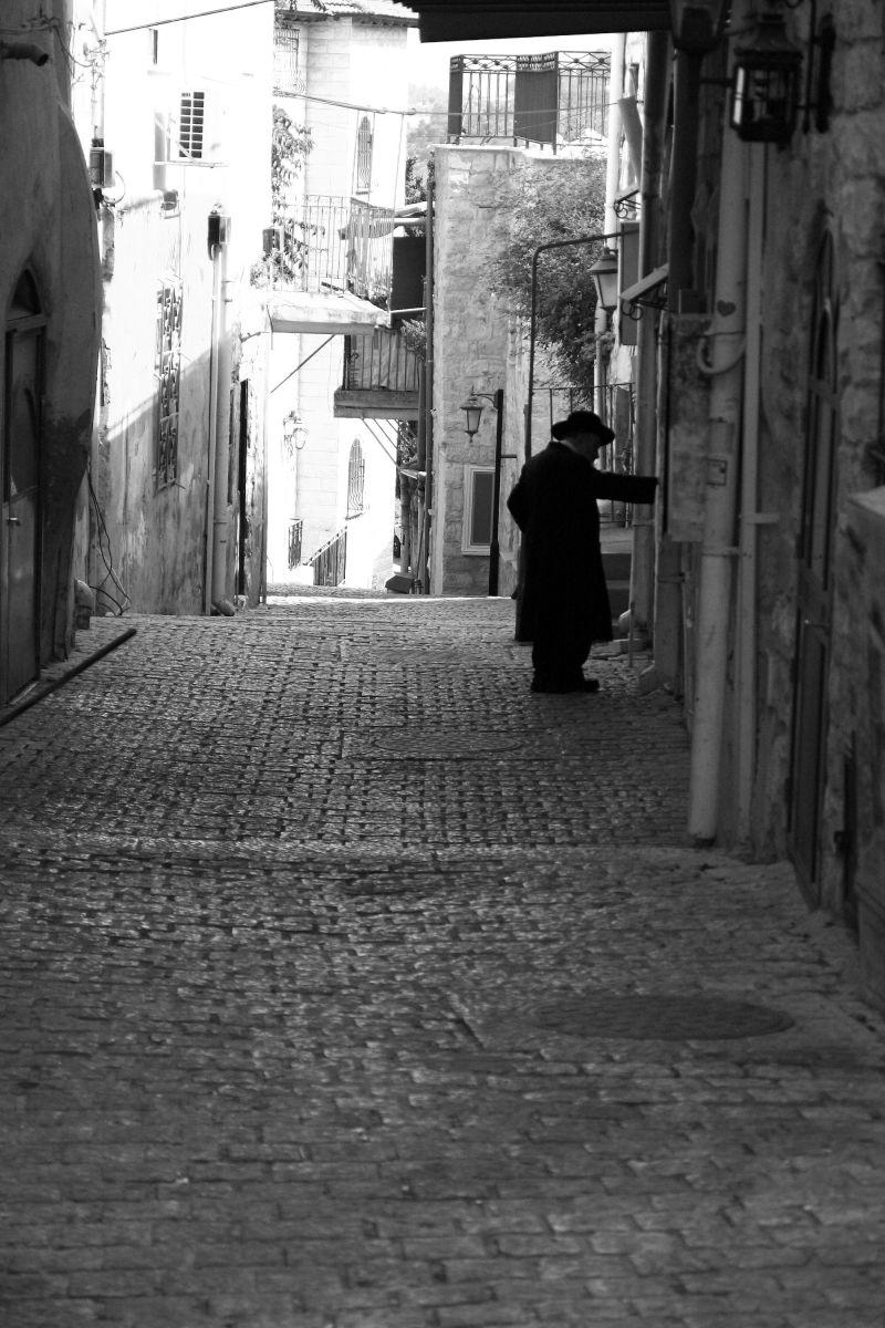 Street in Zefat