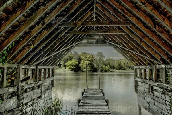 HDR of Ashburnham Boat House