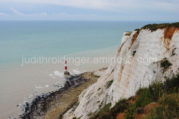 seashore and lighthouse