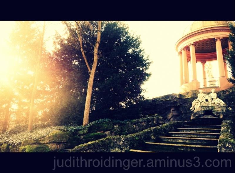 Tempel im Schlossgarten Schwetzingen