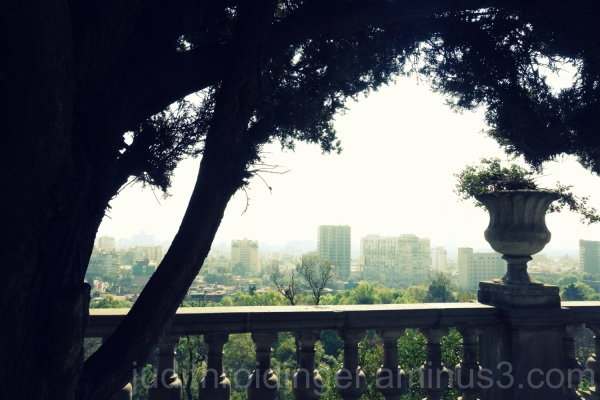 Beautiful View from Chapultepec Castle
