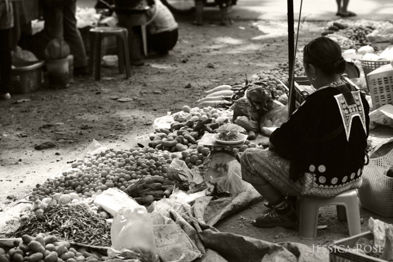 A Moment at the Monday Morning Market