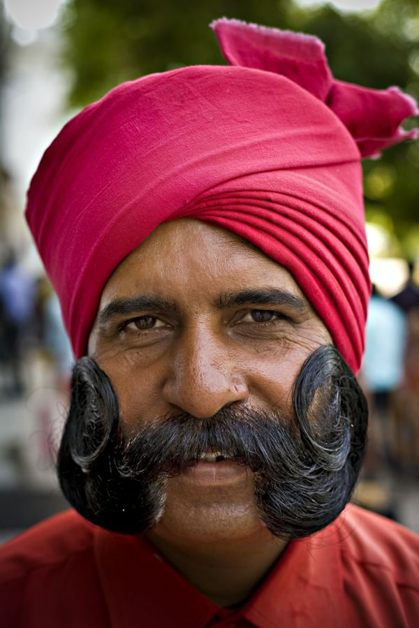 The enigmatic Indian doorman