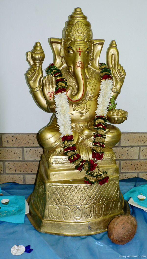 Remover of all obstacles. Ganapati